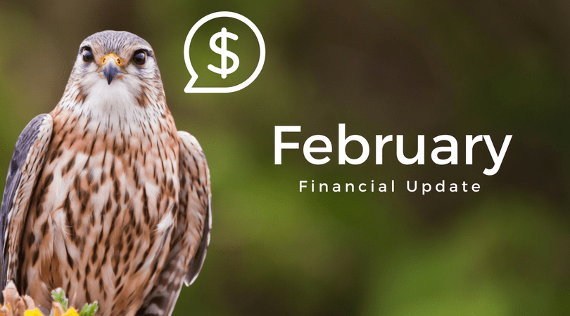 New Year, Same Falcons – February 2018 Financial Update