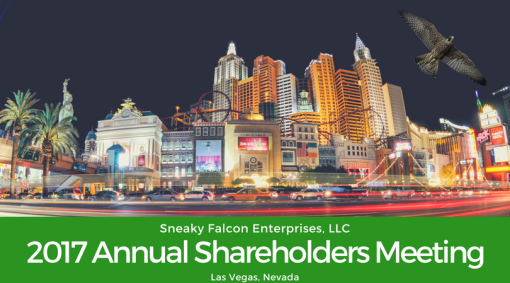 SFE 2017 Annual Shareholders Meeting Announcement