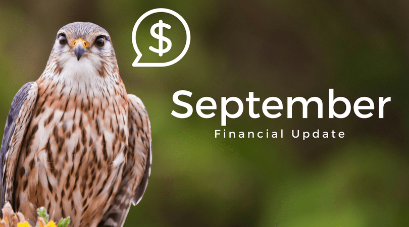 Stone Cold Stunner'd – September 2017 Financial Update