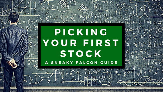 Picking Your First Stock