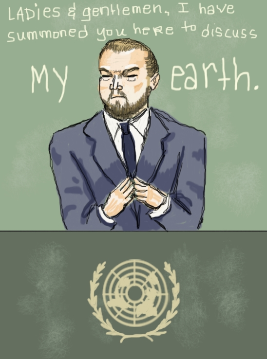 Master DiCaprio by Amanda Wood
