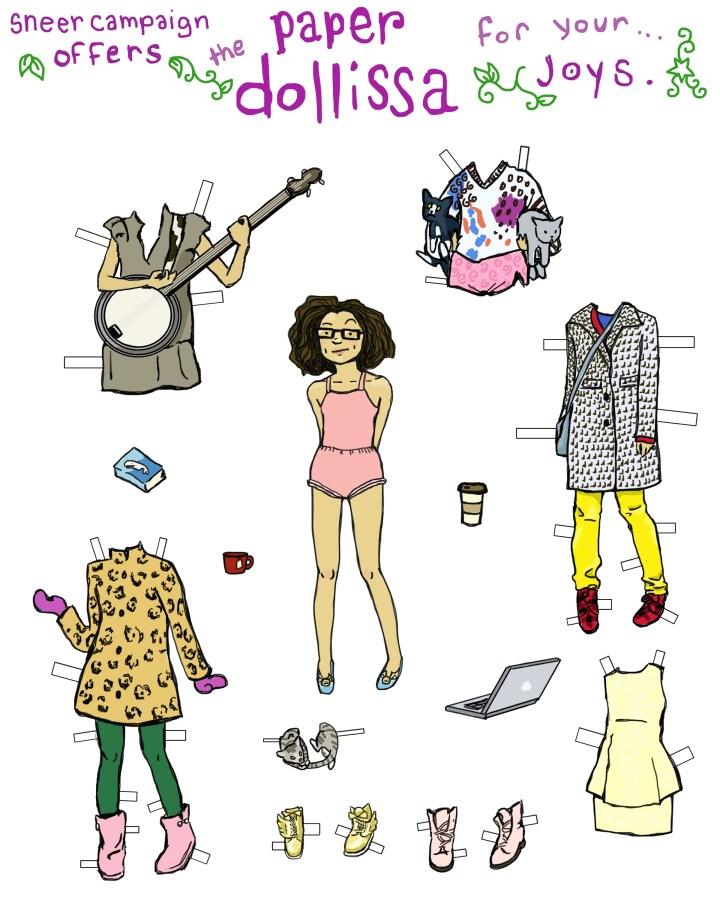 Paper Dollissa by Amanda Wood
