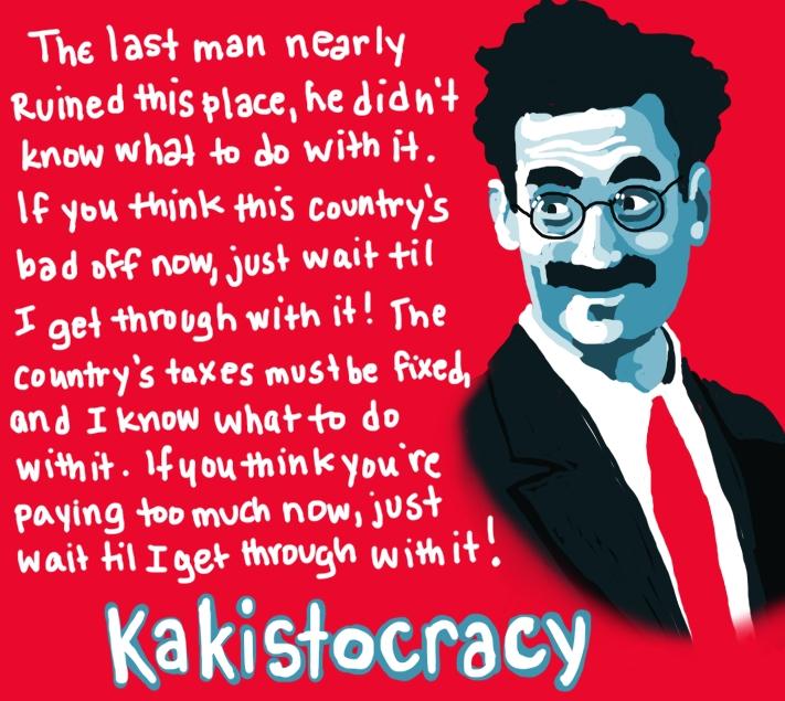 Kakistocracy by Amanda Wood