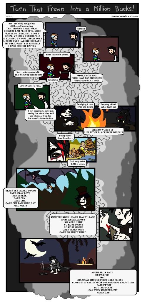 Goth Caveman