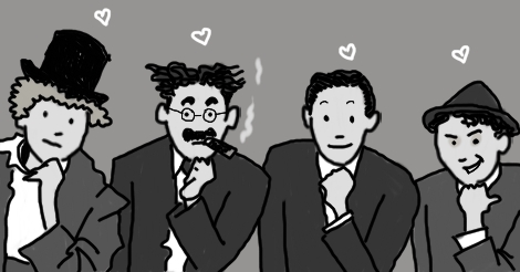 Marx Brothers by Amanda Wood