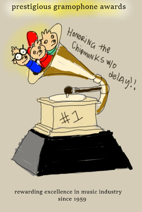 The 1st Annual Grammy Awards by Amanda Wood