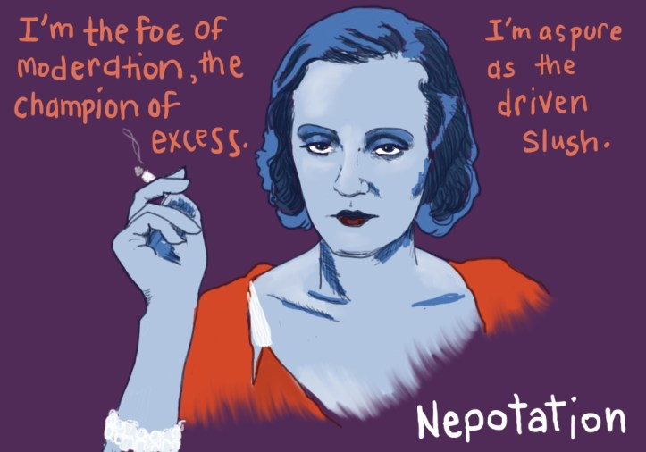 Vogue-cabulary: Nepotation by Amanda Wood Starring Tallulah Bankhead