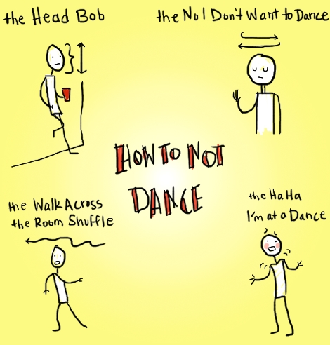 how to not dance