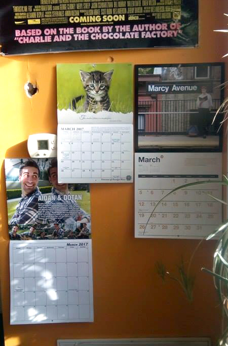 Wall Calendar Crazies