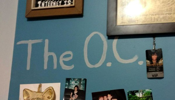 The O.C. on Dollissa's Wall