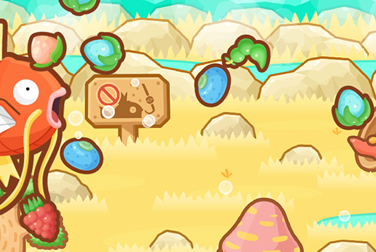 Pokemone Magikarp Jump