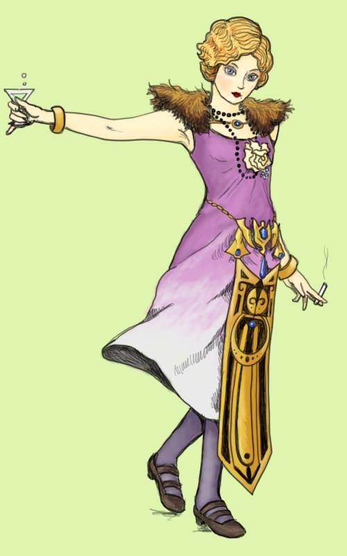 princess zelda by Amanda Wood