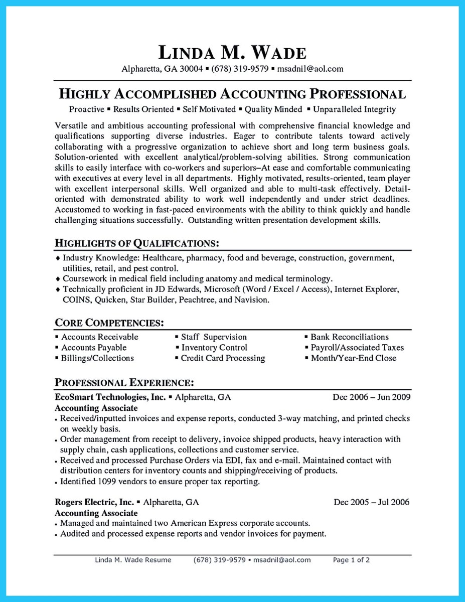 accounts payable specialist resume