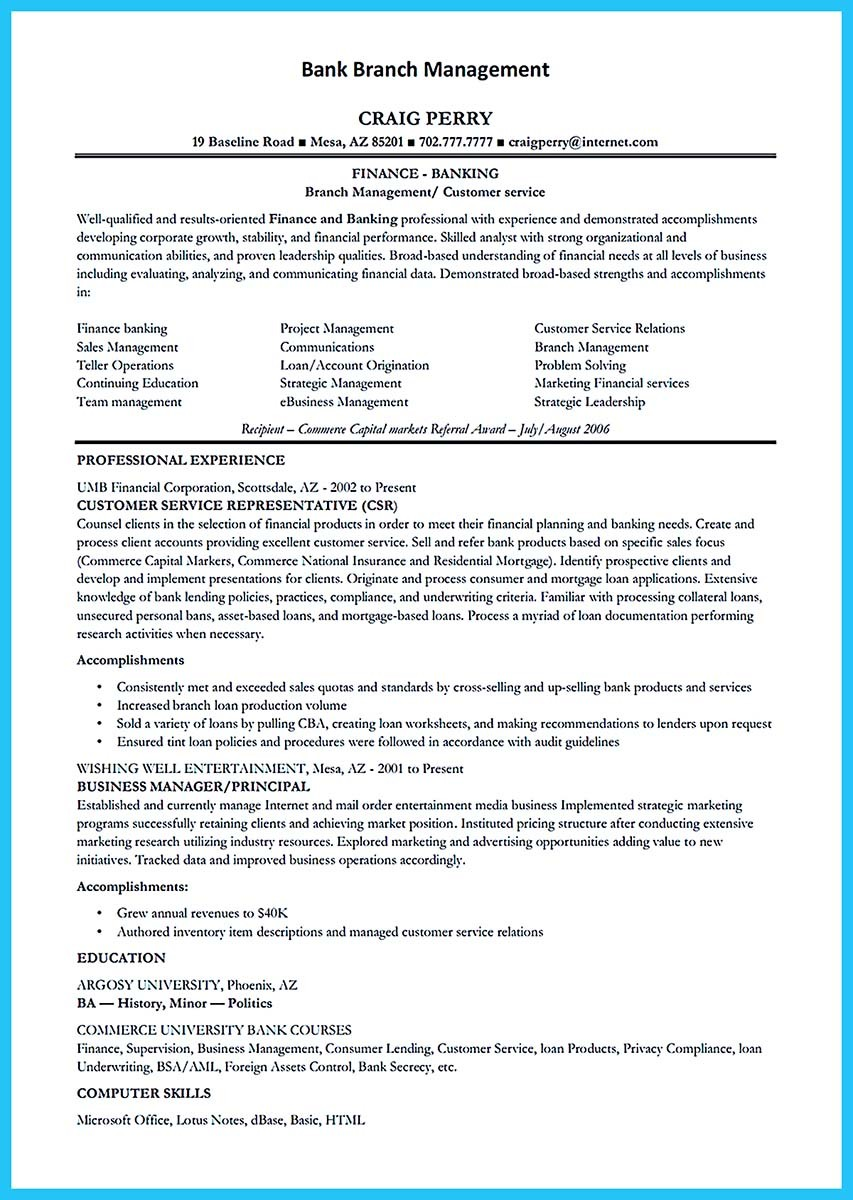 Bank Teller Resume Objective Best Business Template Free Examples Resume  And Paper Project Manager Cv Profile  Lead Teller Resume