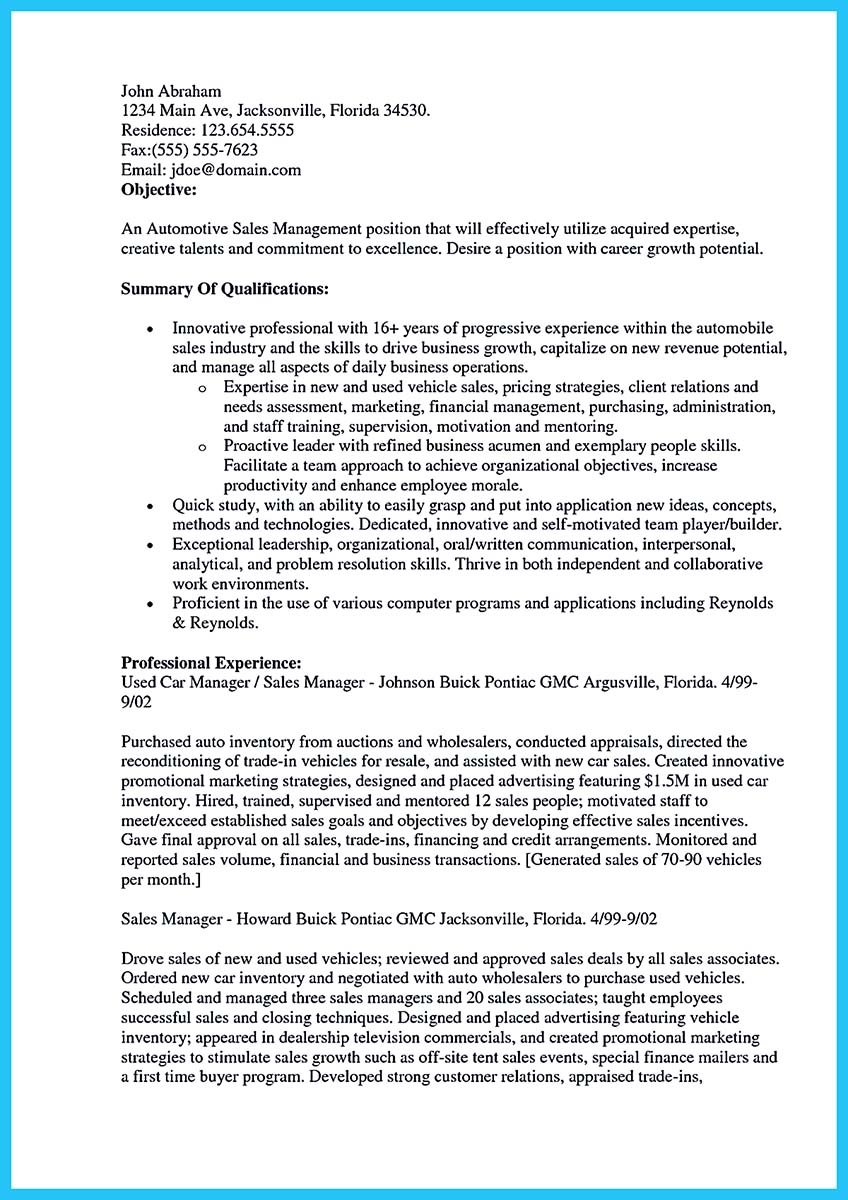 Car Salesman Resume sales representative resume objectives car sales representative writing resume sample Captivating Car Salesman Resume Ideas For Flawless Resume How To