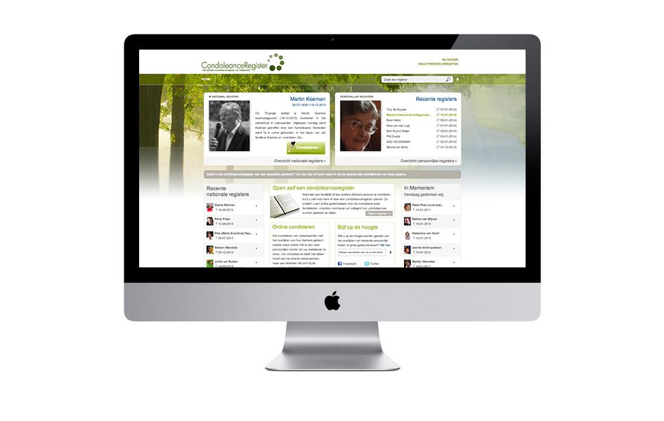 condoleanceregister.nl - Nederlands bekendste online condoleance register