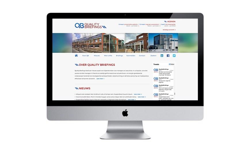 Quality Briefings - Voor managers en executives in de bouw