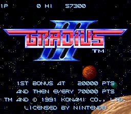 Gradius III 02