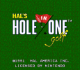 HAL's Hole in One Golf 01