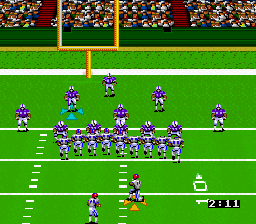 Preparing for a field goal attempt