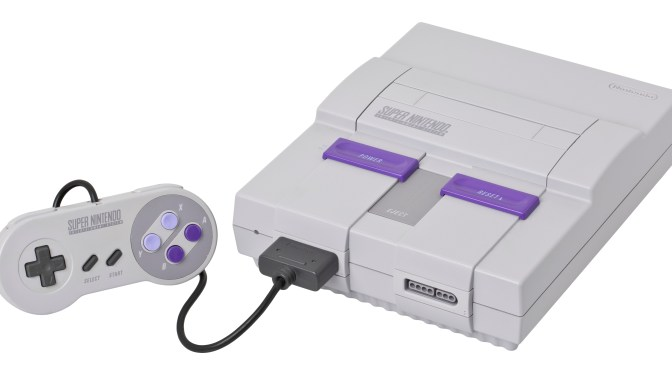 SNES A Day starts tomorrow