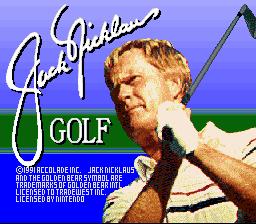 Jack Nicklaus Golf 01