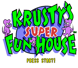 Krusty's Super Fun House 01