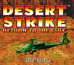 Desert Strike - Return to the Gulf 01