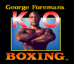 George Foreman's KO Boxing 01