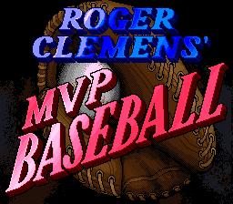 Roger Clemens' MVP Baseball 01