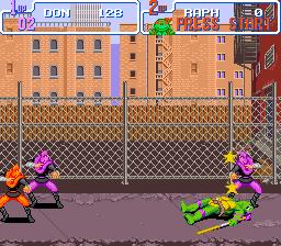 Teenage Mutant Ninja Turtles IV - Turtles in Time 12