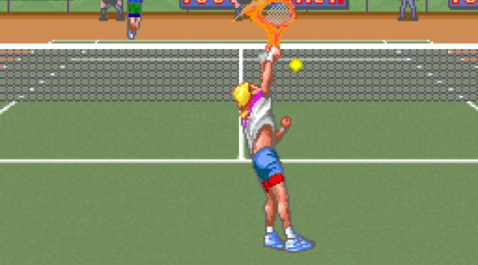 SNES A Day 118: David Crane's Amazing Tennis