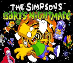 The Simpsons: Bart's Nightmare 01
