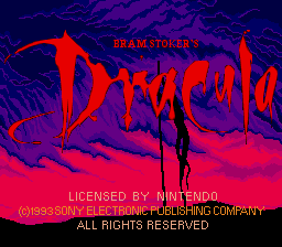 Bram Stoker's Dracula 01