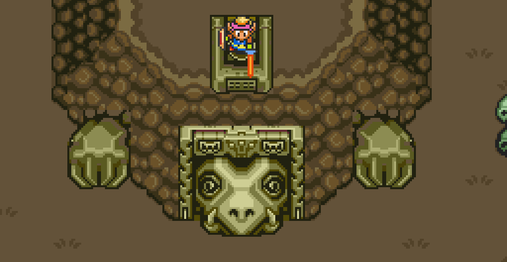 Legend of Zelda - A Link To The Past - Turtle Rock