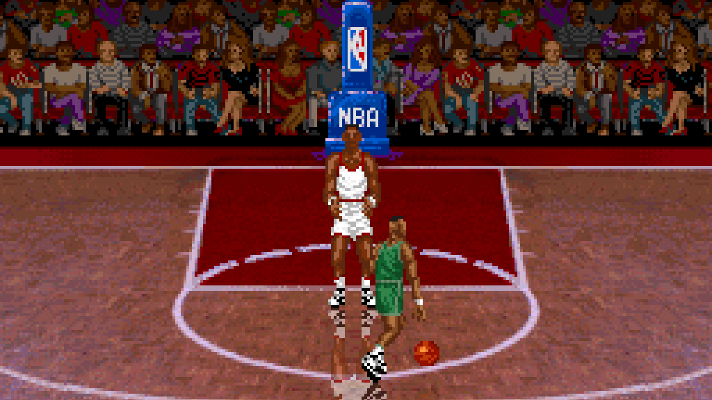ec2da118b39 SNES A Day 139  NBA All-Star Challenge - SNES A Day