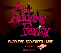 The Addams Family - Pugsleys Scavenger Hunt 01