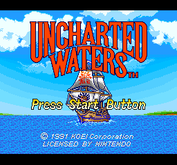 Uncharted Waters 01