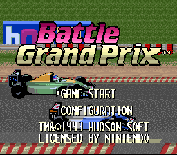 Battle Grand Prix 01