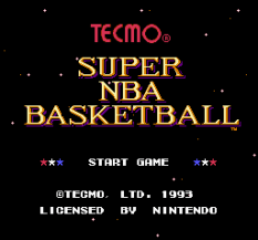 Tecmo Super NBA Basketball 01