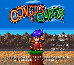 Congos Caper 001
