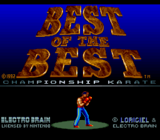 Best of the Best - Championship Karate 01