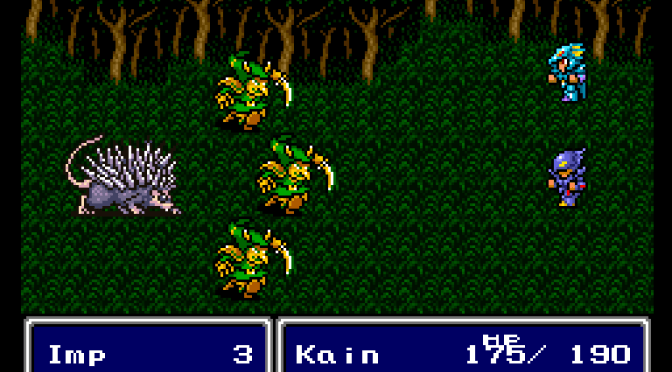 SNES A Day 21: Final Fantasy II