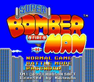 Super Bomberman 01