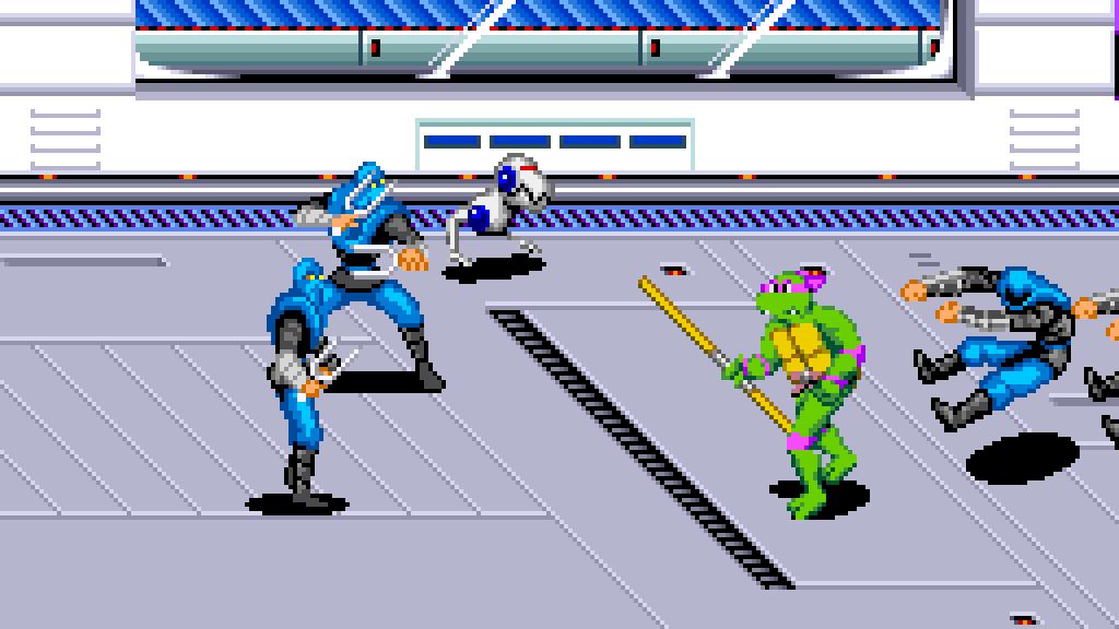 Teenage Mutant Ninja Turtles IV - Turtles in Time FI