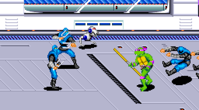 Teenage Mutant Ninja Turtles IV - Turtles in Time FI