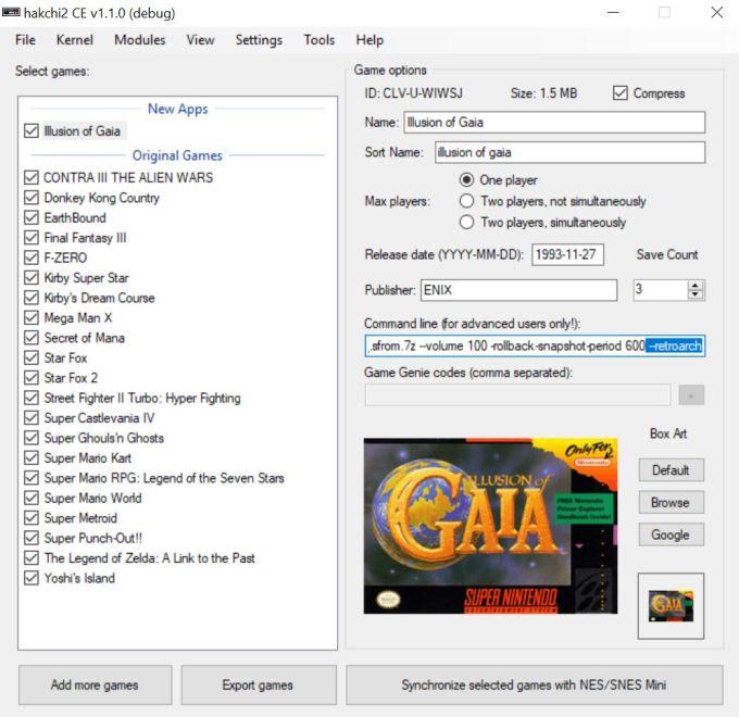 illusion of gaia game genie codes   Gameswalls org