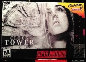 Clock Tower The First Fear SNES Super Nintendo Game