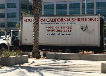 shreding-truck