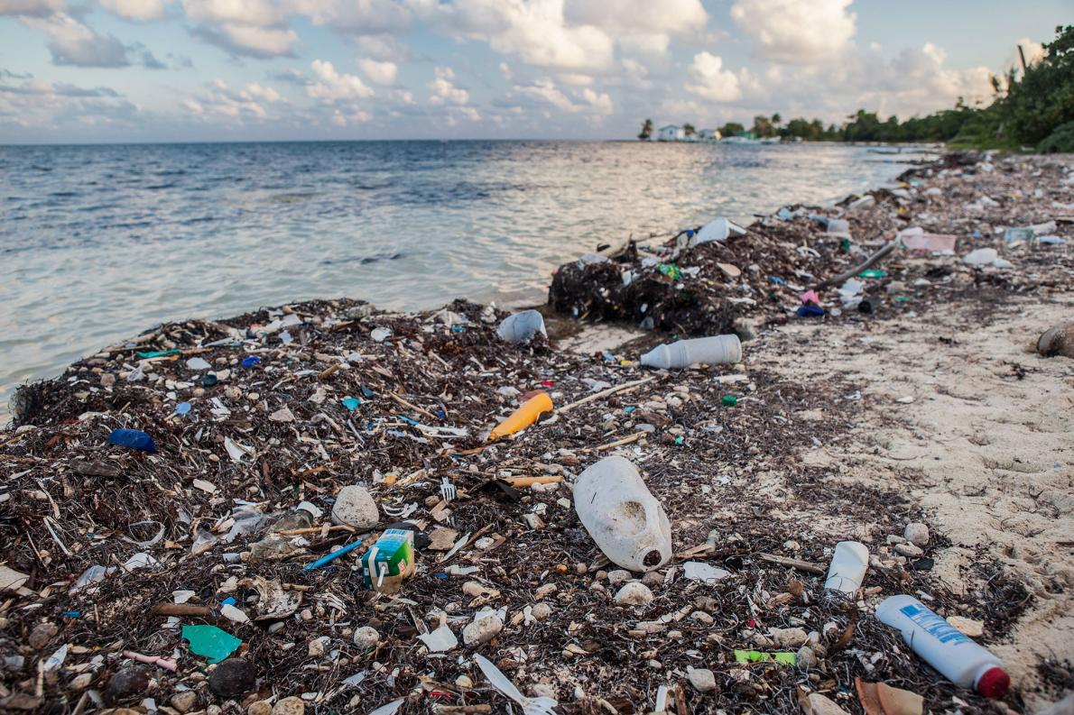 Tides of Plastic Garbage Are Washing Up on Caribbean Beaches